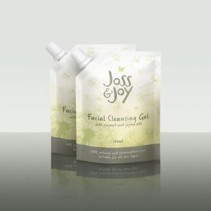 Joss and Joy Facial Cleansing Gel Sharing Pack